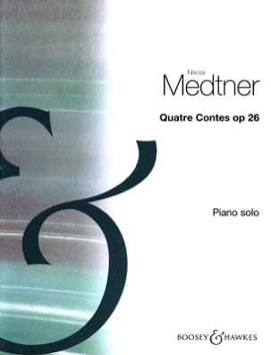 4 Contes Opus 26 Nicolai Medtner Partition Piano - laflutedepan