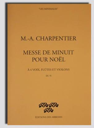 Messe de Minuit Pour Noël H 9. Conducteur CHARPENTIER laflutedepan