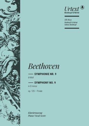 BEETHOVEN - An Die Freude. New edition - Partition - di-arezzo.com