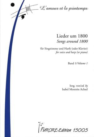 Lieder Um 1800 Für Singstimme une Harfe Oder Klavier Band 1 laflutedepan