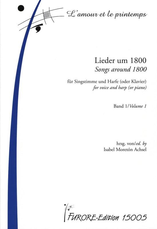 Lieder Um 1800 Für Singstimme une Harfe Oder Klavier Band 1 - laflutedepan.com