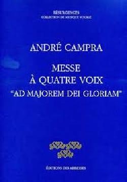 Messe Ad Majorem Dei Gloriam CAMPRA Partition Chœur - laflutedepan