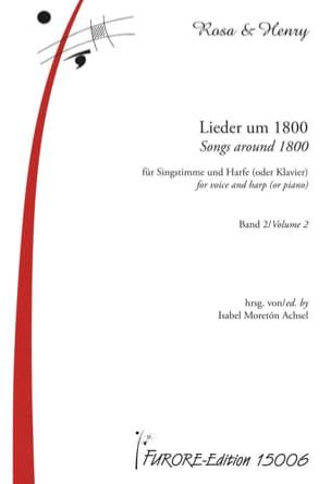 Lieder Um 1800 Für Singstimme Und Harfe Oder Klavier Band 2 laflutedepan