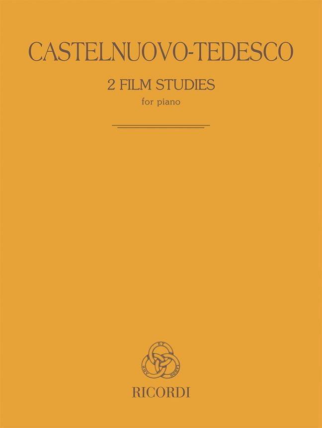 2 film studies - Mario Castelnuovo-Tedesco - laflutedepan.com