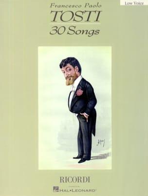 30 Songs. Voix Grave Francesco Paolo Tosti Partition laflutedepan