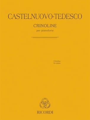 Crinoline Mario Castelnuovo-Tedesco Partition Piano - laflutedepan