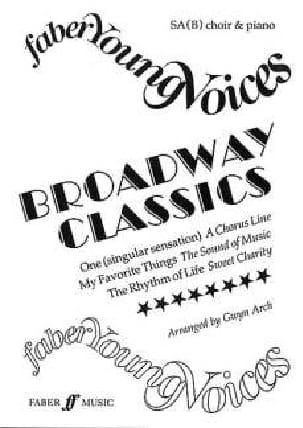 Broadway Classics Partition Chœur - laflutedepan