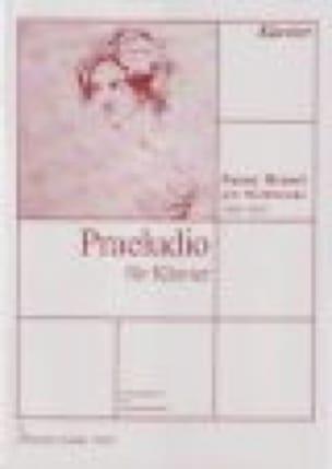 Prélude - Fanny Hensel-Mendelssohn - Partition - laflutedepan.com