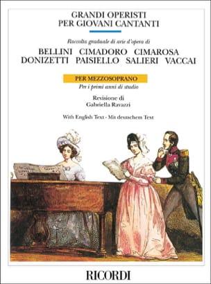 Grandi Operisti Per Giovani Cantanti. Mezzo Partition laflutedepan