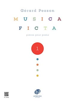 Musica Ficta - Volume 1 Gérard Pesson Partition Piano - laflutedepan