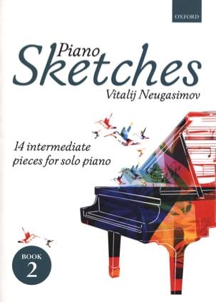 Piano Sketches Volume 2 Vitalij Neugasimov Partition laflutedepan