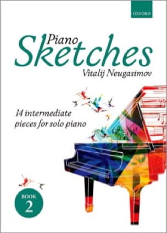 Piano Sketches Volume 2 - Vitalij Neugasimov - laflutedepan.com