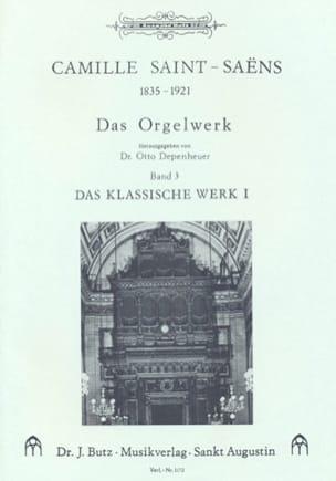 Oeuvre D'orgue Volume 3 SAINT-SAËNS Partition Orgue - laflutedepan