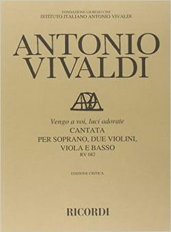 VIVALDI - Vengo To Voi, Luci Adorate RV 682 - Partition - di-arezzo.co.uk
