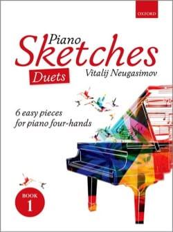 Piano Sketches Volume 1. 4 mains Vitalij Neugasimov laflutedepan