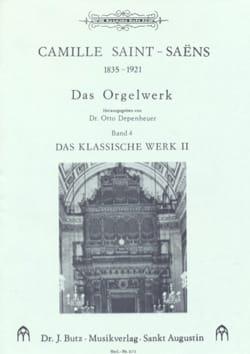 Oeuvre D'orgue Volume 4 SAINT-SAËNS Partition Orgue - laflutedepan