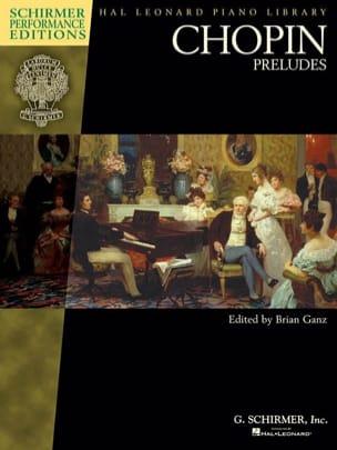 Préludes CHOPIN Partition Piano - laflutedepan
