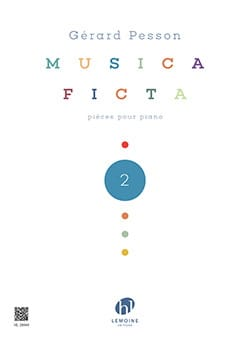 Musica Ficta - Volume 2 Gérard Pesson Partition Piano - laflutedepan