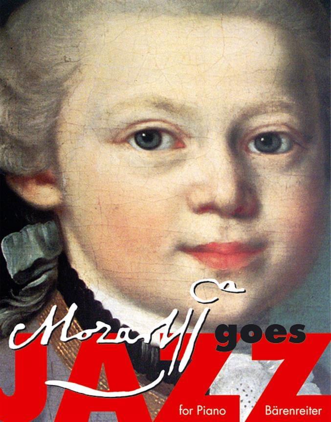 Mozart Goes Jazz For Piano - MOZART - Partition - laflutedepan.com