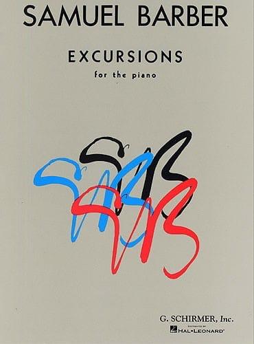 Excursions - BARBER - Partition - Piano - laflutedepan.com