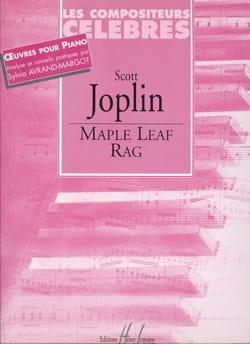 Scott Joplin - Maple Leaf Rag - Partition - di-arezzo.fr