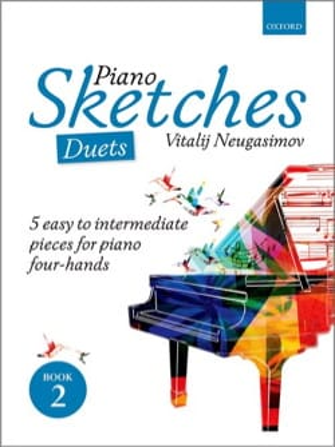 Piano Sketches Volume 2. 4 mains - laflutedepan.com