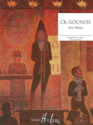 Ave Maria - GOUNOD - Partition - Piano - laflutedepan.com