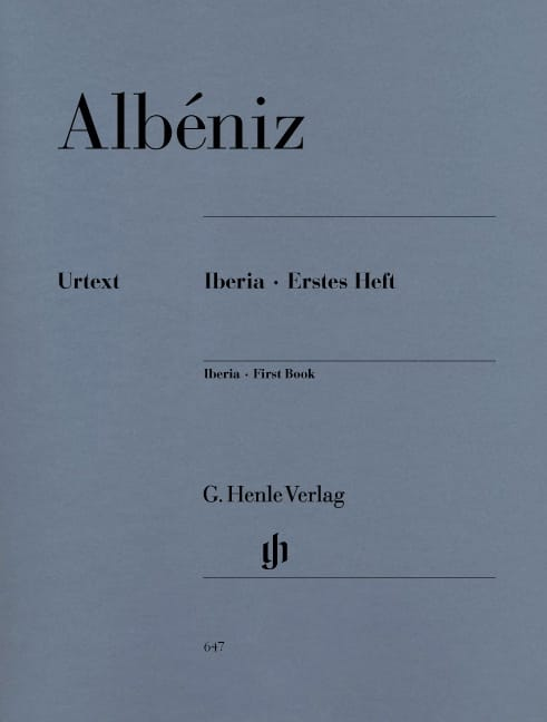 Iberia - Premier cahier - ALBENIZ - Partition - laflutedepan.com