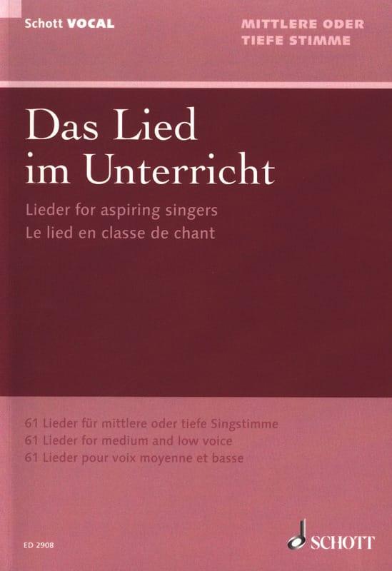 Das Lied Im Unterricht - Partition - Mélodies - laflutedepan.com