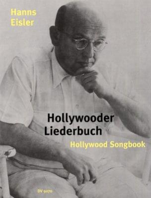Hollywooder Liederbuch Hanns Eisler Partition Mélodies - laflutedepan