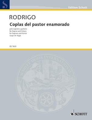 Coplas Del Pastor Enamorado RODRIGO Partition Guitare - laflutedepan
