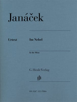 Dans les brumes JANACEK Partition Piano - laflutedepan