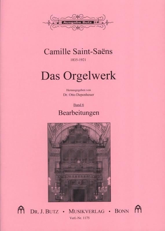 Oeuvre D'orgue Volume 6 - SAINT-SAËNS - Partition - laflutedepan.com