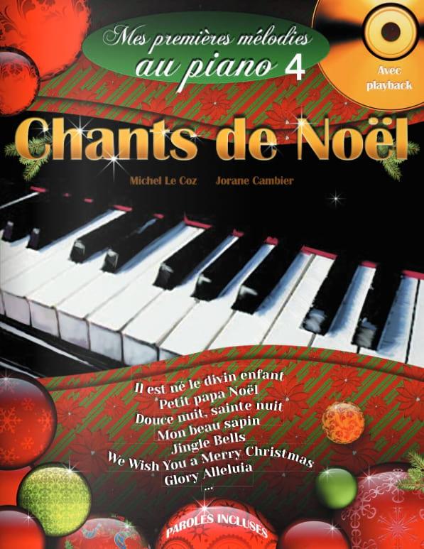 Chants de Noël - Mes premières mélodies au Piano - laflutedepan.com