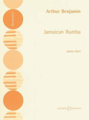 Jamaican Rumba. 4 Mains Arthur Benjamin Partition Piano - laflutedepan