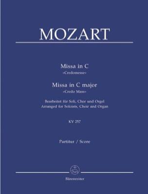 Missa in C Credo-Messe KV 257. Version Choeur Orgue laflutedepan