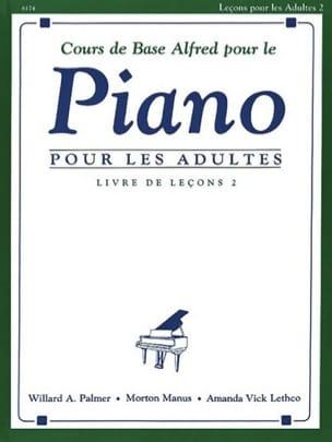 Cours de Piano Adultes Volume 2 ALFRED Partition Piano - laflutedepan