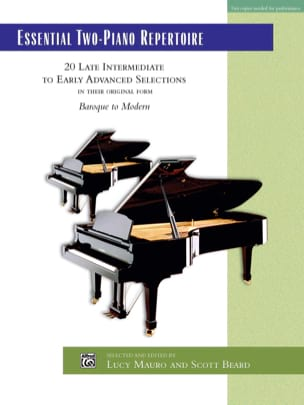 Essential 2-Piano Repertoire - Partition - laflutedepan.com