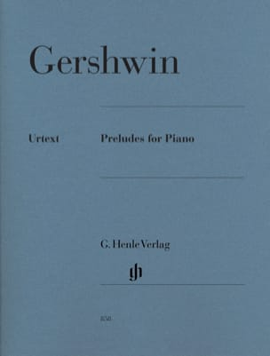 3 Preludes GERSHWIN Partition Piano - laflutedepan