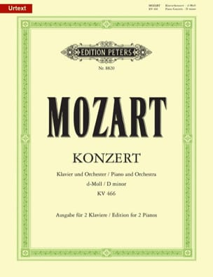 Concerto Pour Piano N° 20 En Ré Mineur KV 466 MOZART laflutedepan