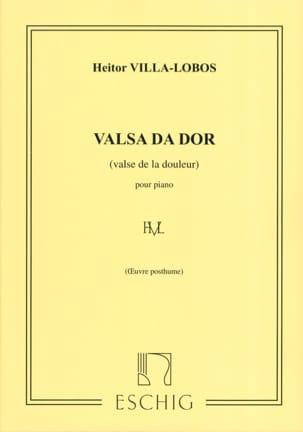 Valsa Da Dor VILLA-LOBOS Partition Piano - laflutedepan