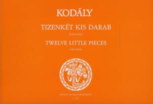 12 Little Pieces KODALY Partition Piano - laflutedepan