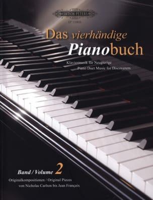 Das Pianobuch Volume 2. 4 Mains - Partition - laflutedepan.com