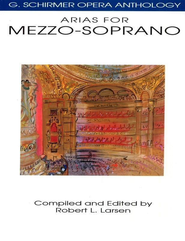 Opera Anthology : Arias Pour Mezzo - Partition - laflutedepan.com