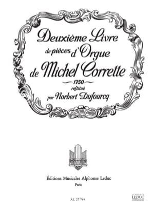 Livre D'orgue N°2 1750 Corrette Michel / Dufourcq Norbert laflutedepan