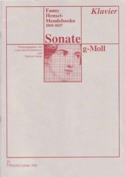 Sonate en sol mineur Fanny Hensel-Mendelssohn Partition laflutedepan