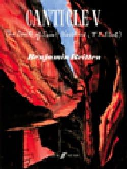 Canticle V Opus 89 - BRITTEN - Partition - Harpe - laflutedepan.com