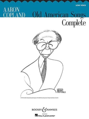 Complete Old American Songs. Voix Grave COPLAND Partition laflutedepan