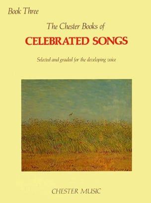 Chester Book Of Celebrated Songs Volume 3 - laflutedepan.com