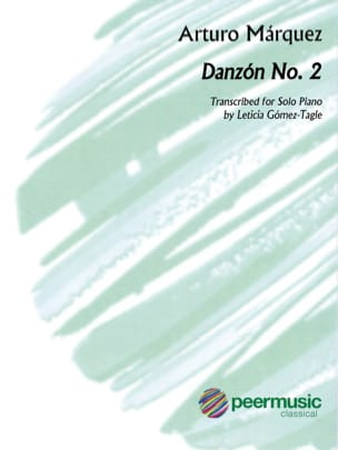 Danzon n°2 Arturo Marquez Partition Piano - laflutedepan